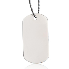 </p> <ul> <li>Crafted in Stainless Steel</li> <li>Personalization Included</li> <li>Living Memorial® Program</li> </ul> <p>